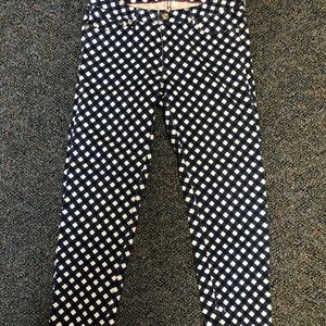 Kate Spade Skinny Jeans- Printed (size 29)
